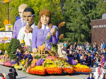 FFA Today Float in the 2010 Rose Bowl Parade Royalty Free Stock Photo