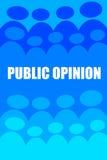 Öffentliche Meinung Lizenzfreie Stockbilder