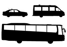 Öffentliche Transportmittel Stockfoto
