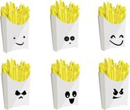 FFF_french_fries Royalty Free Stock Photo