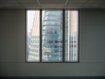Ffice and condominium building view. Sun light from windows, office and condominium building view Stock Photo