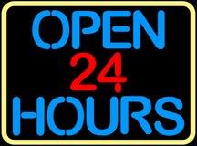 Öffnen Sie 24 Stunden Stockbilder