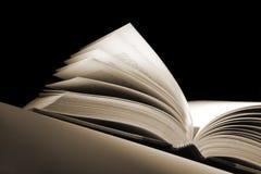 Öffnen Sie Buch Stockfotografie