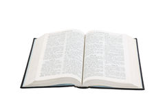 Öffnen Sie Buch Stockfoto