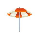 Öffnen Sie Regenschirmvektorillustration Lizenzfreie Stockfotografie