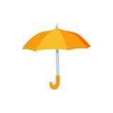 Öffnen Sie Regenschirmvektorillustration Stockfoto