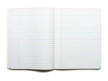 Öffnen Sie Zusammensetzungs-Buch Lizenzfreies Stockfoto
