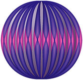 Fframe of the ball. Fframe of the ball, EPS8 - vector graphics Stock Photography