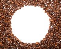 Fframe de feijões de café para as fotos Imagem de Stock Royalty Free
