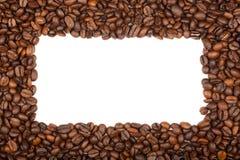 Fframe de feijões de café para as fotos Imagens de Stock Royalty Free