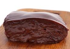 Fígado da vitela Imagem de Stock Royalty Free