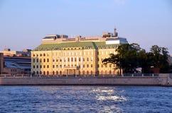 FGC UES in Saint-Petersburg Stock Image