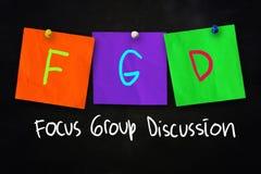FGD-Concept Stock Afbeeldingen