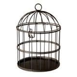 fågelbur Arkivfoto