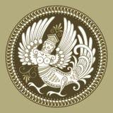 fågelkvinna Arkivbild