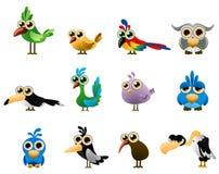 fågelvektor Royaltyfria Bilder