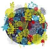 Fåglar, blommor och annan natur. Arkivfoton
