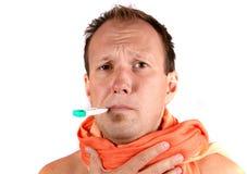 Fühlen krank Lizenzfreies Stockfoto