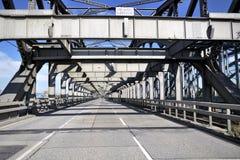 Fhreihafenelbbrücke Fotografia Stock Libera da Diritti
