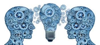 Führen Sie und erlernen Sie Innovationsstrategie Lizenzfreie Stockfotografie