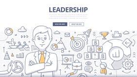 Führungs-Gekritzel-Konzept Lizenzfreie Stockfotos