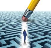 Führungs-Lösungen Lizenzfreies Stockbild