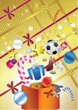 Fièvre d'achats de Noël Photo stock