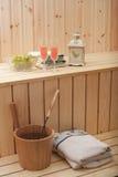 Fiński Sauna Obraz Royalty Free
