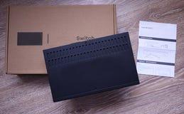 Fi adaptator dla domu i biura zdjęcia stock