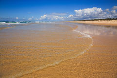 FI Beach Cool Water Royalty Free Stock Photo