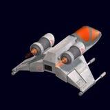 fi sci statek kosmiczny wszechświat royalty ilustracja