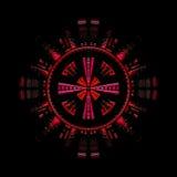 fi sci symbol royalty ilustracja