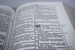 Fińska biblia Zdjęcia Stock
