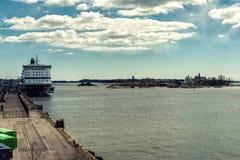 Fiński archipelag, Helsinki Zdjęcie Royalty Free