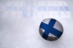 Fiński hokej Fotografia Stock