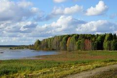 Fiński krajobraz Fotografia Stock