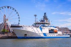 Fiński na morzu patrolowy statek Turva Obraz Stock
