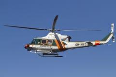 Fiński ratowniczy helikopter Obrazy Royalty Free