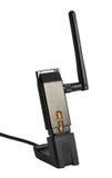Fi USB Bezprzewodowy adaptator Zdjęcia Stock