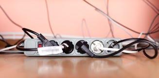 Fiação elétrica Foto de Stock