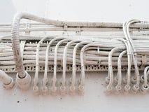Fiação elétrica resistente Foto de Stock