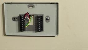 Fiação lenta da bandeja ou do termostato filme
