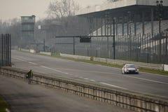 FIA世界在蒙扎电路的游览车冠军 免版税库存照片