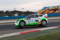 FIA世界Rallycross冠军 免版税图库摄影