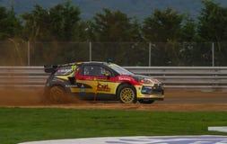 FIA世界Rallycross冠军 库存图片