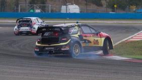 FIA世界Rallycross冠军 图库摄影
