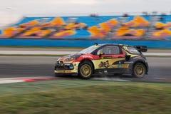 FIA世界Rallycross冠军 免版税库存图片
