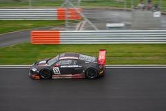 FIA Audi GT1 στη φυλή Στοκ Εικόνες