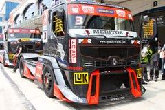 FIA-europäischer LKW-laufende Meisterschaft 2012 Stockfoto