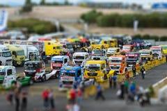 FIA European Truck Racing Championship 2015 Imagenes de archivo